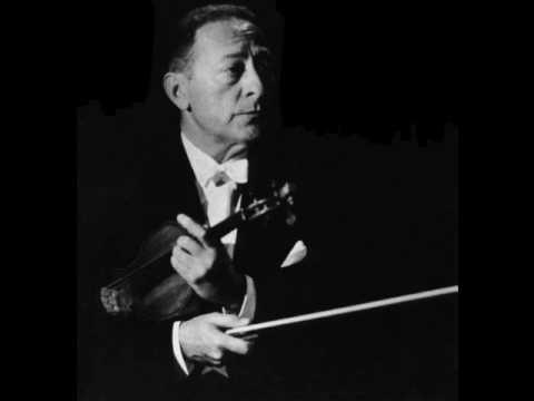 Heifetz plays Tzigane by Ravel