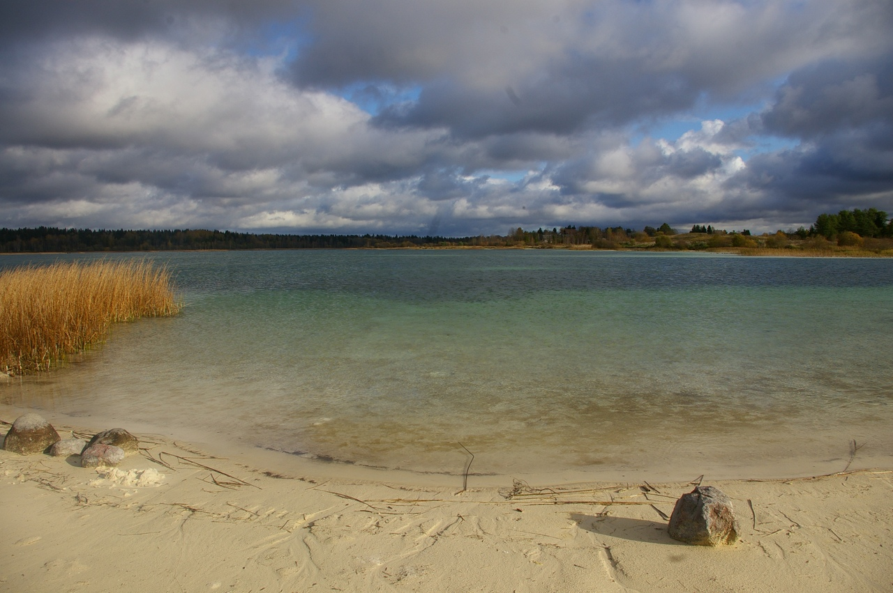 Красивее, чем на Мальдивах. Озеро Донцо и Усадьба Пятая Гора в октябре. То, чего не видели раньше