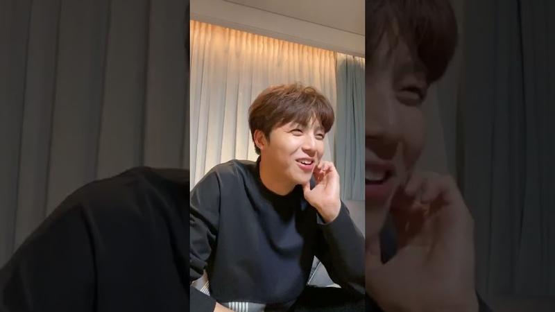 Трансляция Линона в инстаграме 20191031 陳立農 IG 直播