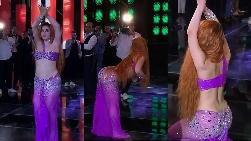 Oxana Bazaeva belly dance baladi drum solo - رقص شرقى