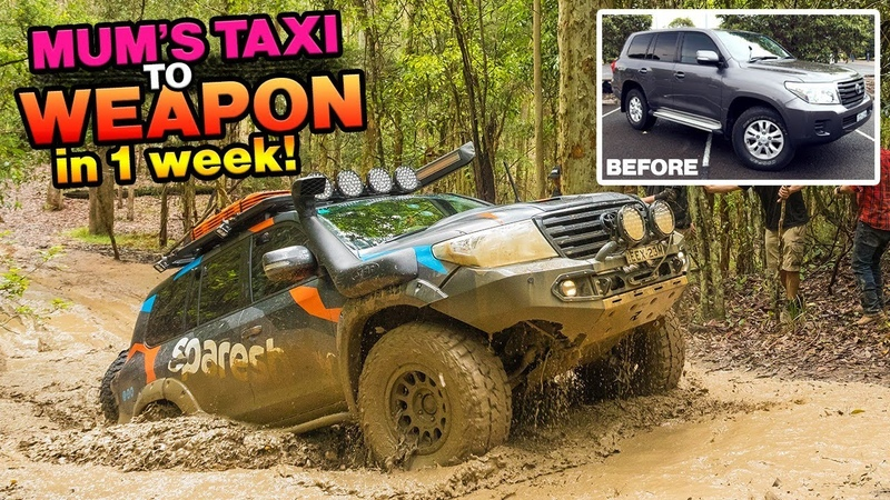 INSANE TRANSFORMATION How we made this stocker 4WD Action trip ready The 12 mods YOU need