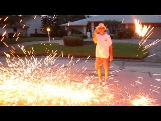 HOMEMADE FIREWORKS! ( - Day 1526)