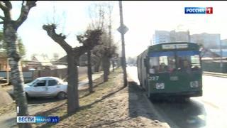 В Йошкар-Оле столкнулись легковушка и троллейбус