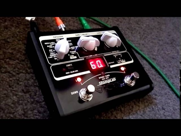 VOX Stomplab 1G A diminutive but great sounding multi effects unit