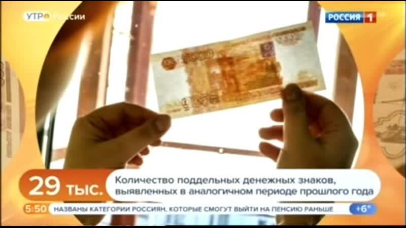 Признаки настоящих банкнот