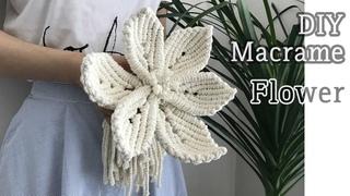 DIY Macrame Flower For Wedding / 마크라메 꽃
