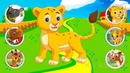 Learn Farm Animals With Puzzle Learn Names And Sounds Of Animals For Children