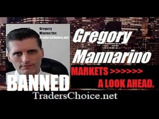 """MARKETS A LOOK AHEAD: """"We Have Their Playbook."""" Mannarino"""