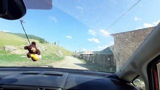 Легендарное село САРАТАН. Подробное видео всего села (Республика Алтай, Улаганский район)