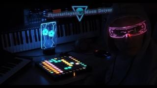 Procrastinyash - Moon Driver / Minilogue XD and Launchpad Pro Performance / Bitwig Studio Mix