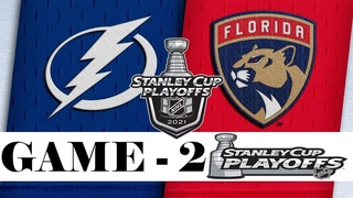 Tampa Bay Lightning vs Florida Panthers | Stanley Cup 2021 | Game 2 | , 2021 | Обзор матча