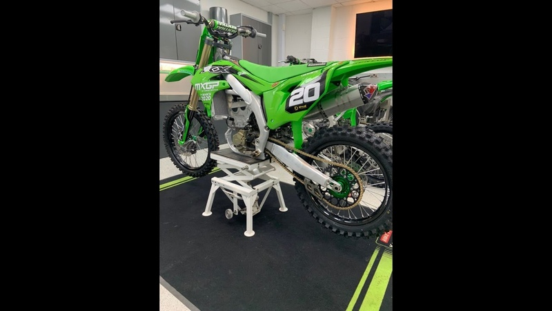 FIRST LOOK SPECIAL FACTORY KX250f RAW