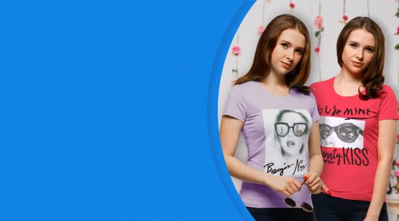 Женские футболки с принтами \ ООО