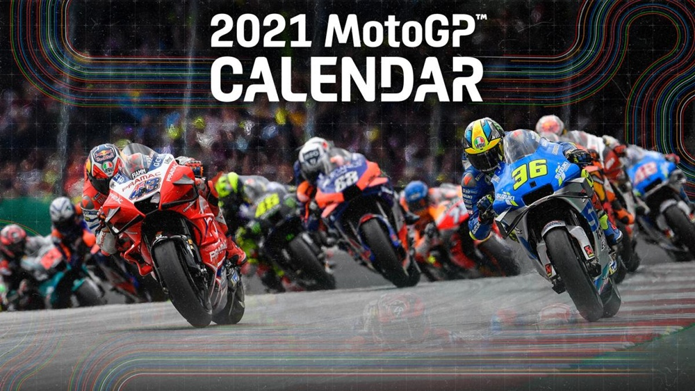 Предварительный календарь MotoGP 2021