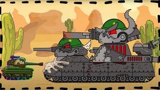 Trò chơi bắn xe tăng quái vật -Trận chiến của Đấu sĩ Soviet | Phim hoạt hình về xe tăng