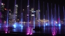 Спектра Сингапур. Лазерное фонтанное шоу. HD 720