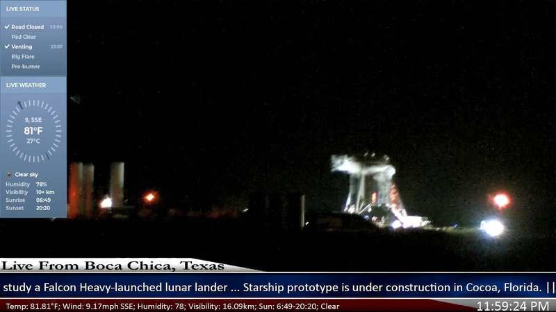 Starship Hopper @SpaceX Side Thrusters Test?