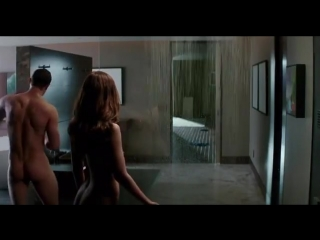 Кристиан и Ана/утренний душ
