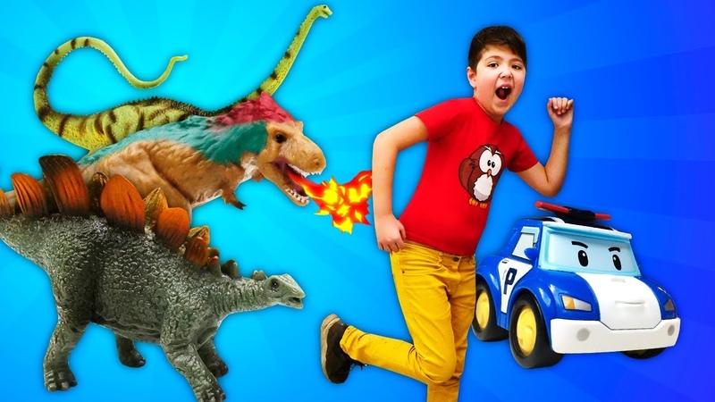 Игрушки динозавры Коллекта Collecta Большая распаковка иобзор Доисторический мир животных