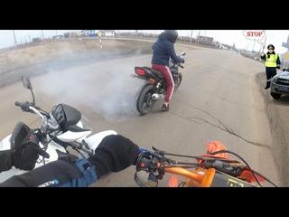 Последнее видео с Gr1 Lite/стант/Stels Flex 250/Yamaha 400 бернаут/ #stunt