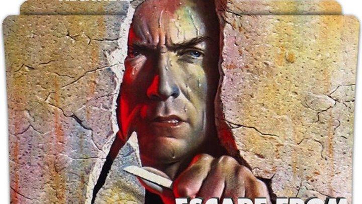 Побег из Алькатраса ENG 1979 Escape From Alcatraz Full HD триллер Драма