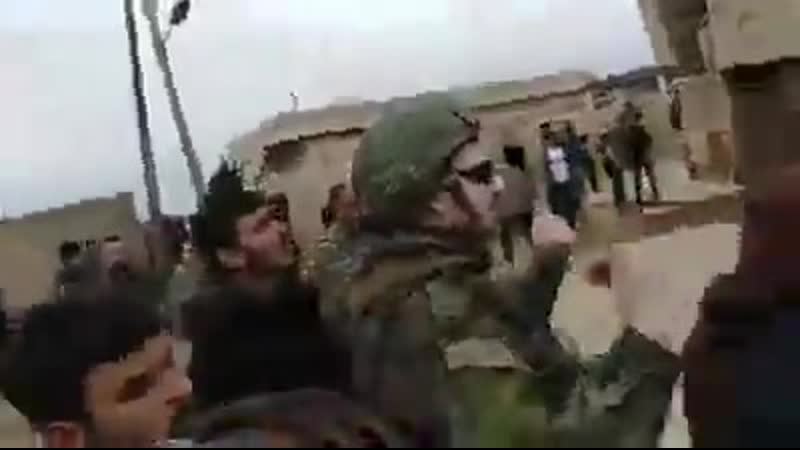 Russia troops tried to de escalate tense situation near SAA CP