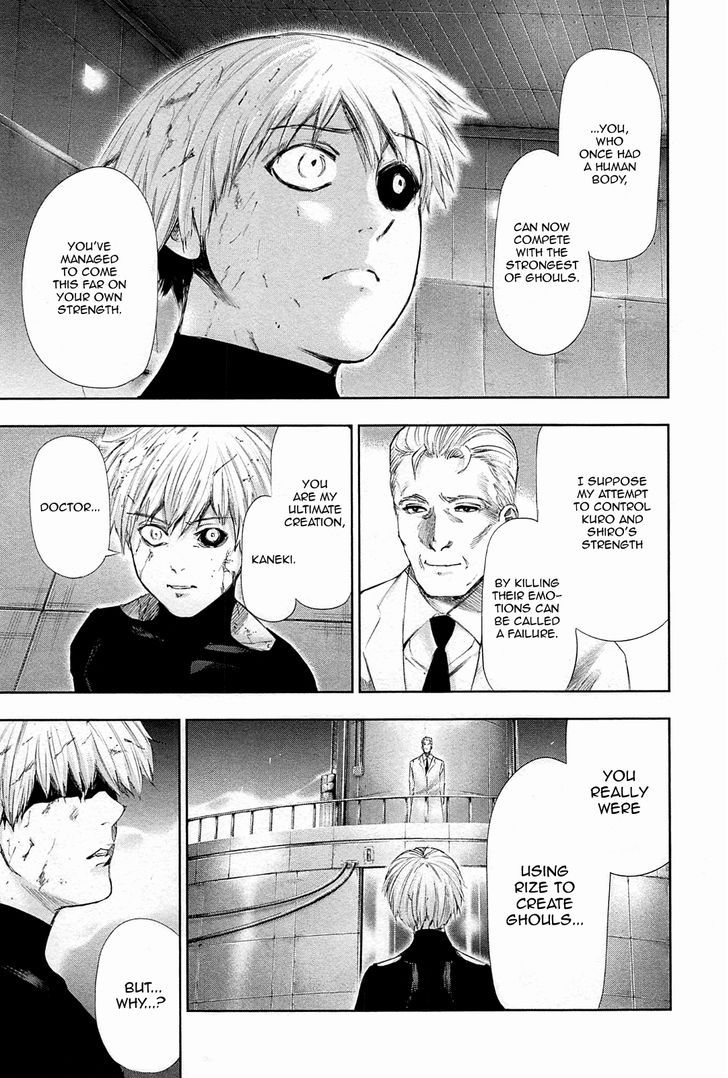 Tokyo Ghoul, Vol.10 Chapter 99 Unknown, image #3