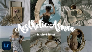 Aesthetic Asmaa Inspired Preset / Free DNG Preset for IOS & Android / Lightroom Mobile Tutorial 2020