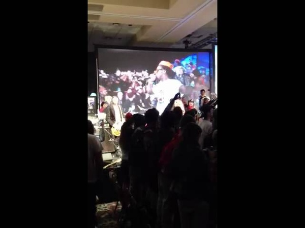 Lil Wayne at Zumiez 100k 2012