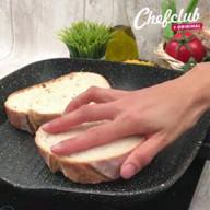 id_14979 Сытные бутерброды с фаршем и сыром 🍞🥪  Автор: Chefclub  #gif@bon