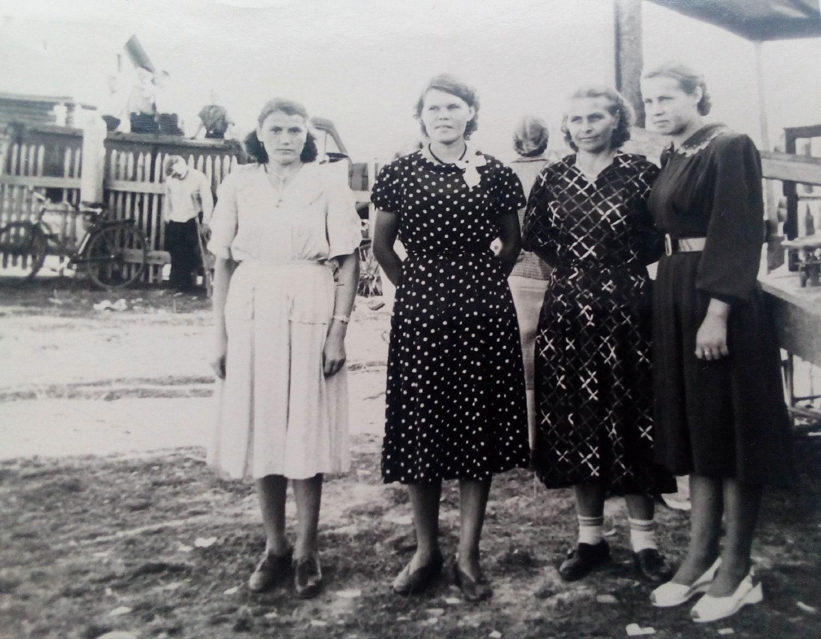 Фото 1950-ых годов, п.Коноша, День железнодорожника на