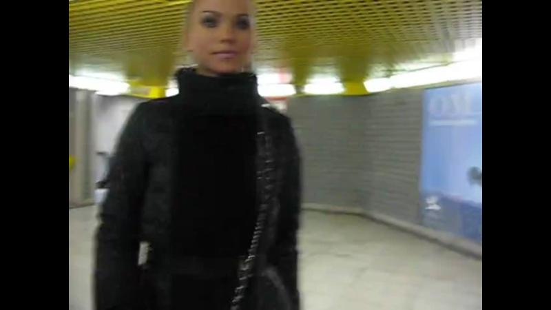 The Milan metro the Duomo