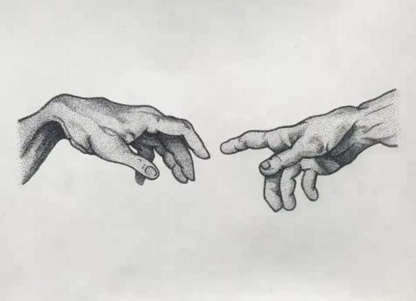 creative hand drawings - HD1200×908