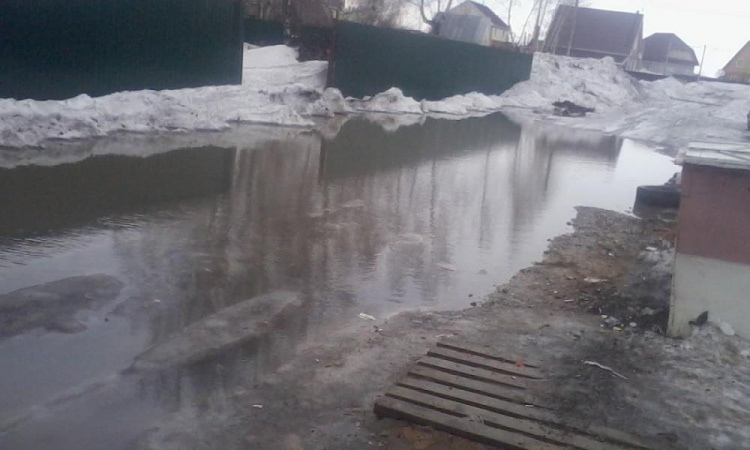 В Семее паводковая ситуация находится на постоянном контроле