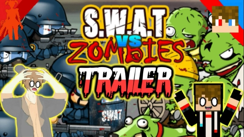 Tihonsyah FNAFER - S.W.A.T VS ZOMBIES (Official Trailer)