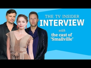The TV Insider interview with cast of Smallville 2021