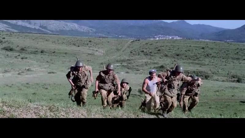 Марш бросок десантуры 9 Рота 2005 отрывок сцена момент