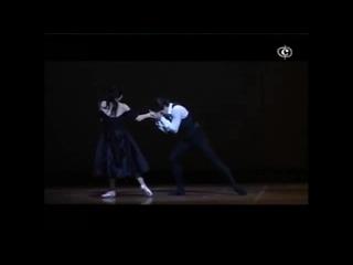 "Roberto Bolle and Alessandra Ferri ""The Lady of the Camellias"". Choreography by John Neumeier"