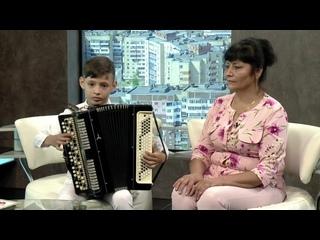 Камиль Газизов - Воспитанник Уфимской детской школы искусств  Файруза Газизова - мама Камиля