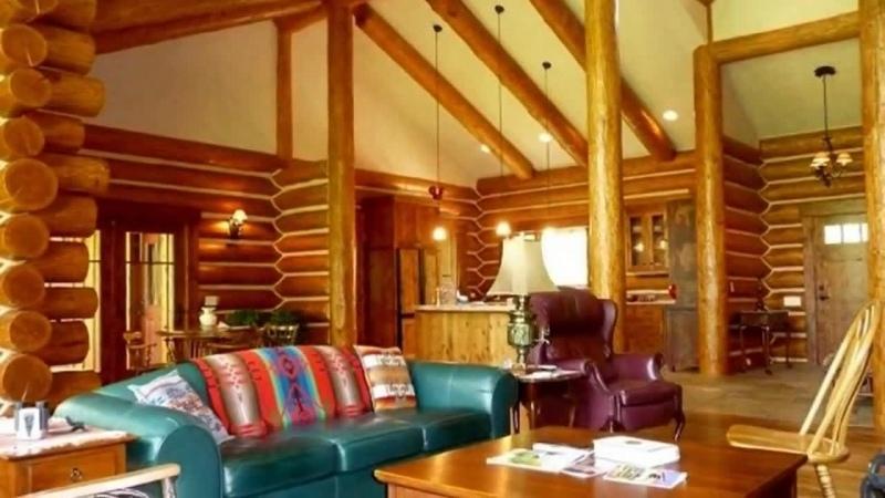 Красивые интерьеры деревянных домов из сруба