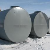 Резервуар горизонтальный одностенный РГС 25м3