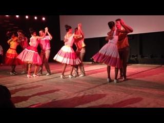 Ча-ча-ча (Cha-cha-cha), Шоу Национального Фольклорного Ансамбля Кубы (Conjunto Folklorico Nacional de Cuba)