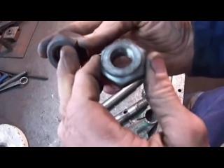 Реставрация рулевой колонки мотоцикла УРАЛ