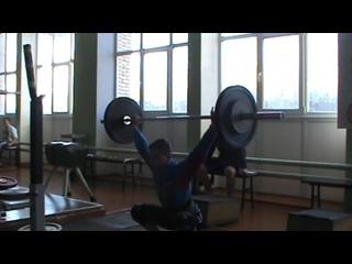 Масленков Дмитрий-01 г/р.(кат. 56 кг)-рывок с виса-70 кг.