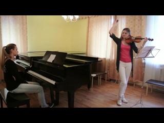 ♫♪ Сектор Газа -Твой звонок _скрипка & пианино  ♫♪