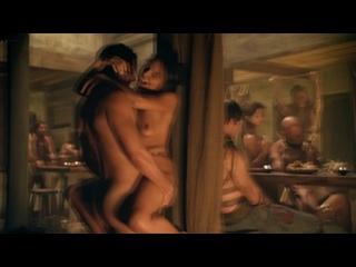 Hanna Mangan-Lawrence, Cynthia Addai-Robinson Nude - Spartacus (2012) s2e7-9 HD 1080p BluRay