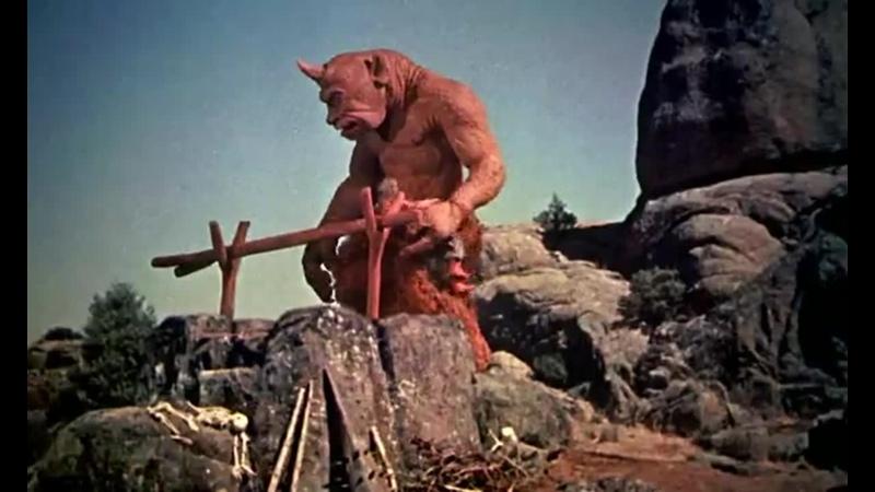 Седьмое путешествие Синдбада 1958 США Советский дубляж