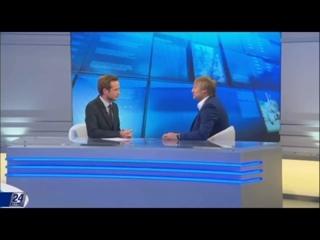 Президент Blockchain Fund Андрей Карпухов на TV Хабар 24