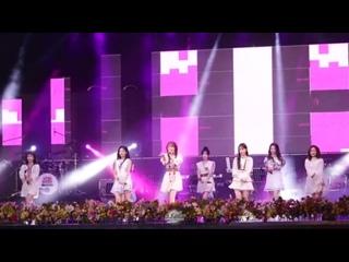 170826 ღ Lovelyz - Now, We ღ 14th Chupungryeong Music Festival