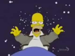 Вся жижнь Гомера Симсона за 1 минуту